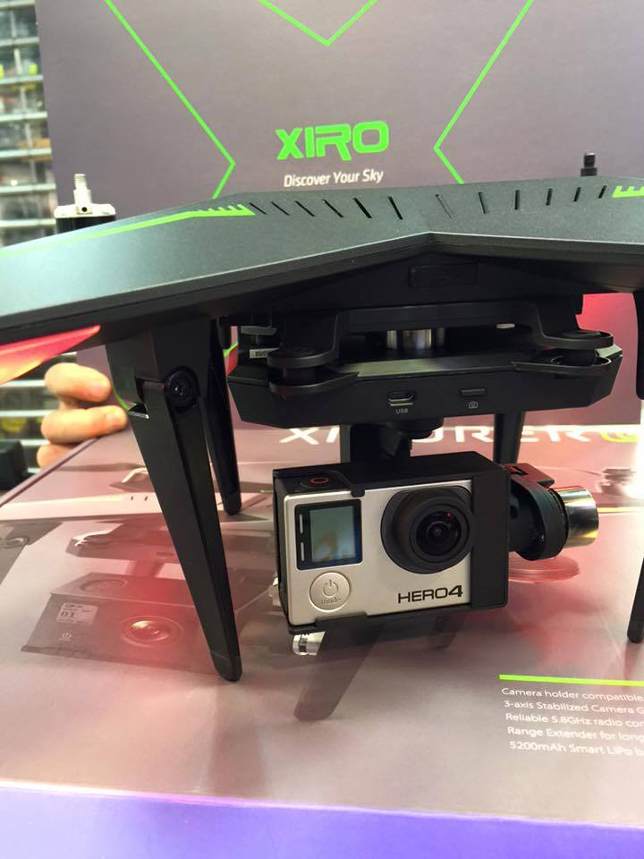 how to use xiro drone