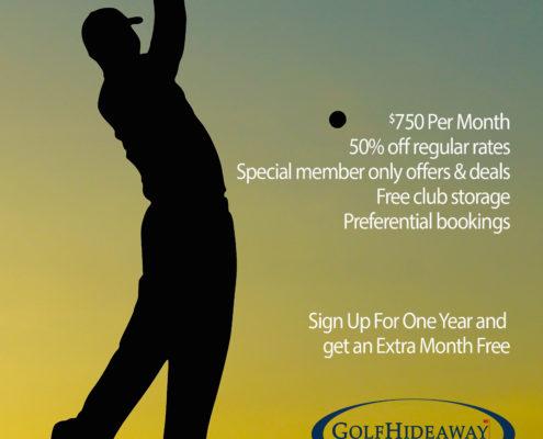 Membership at Golf Hideaway