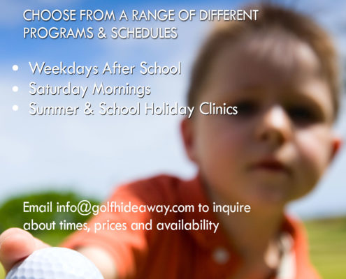 Kids Golf Clinics